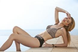 Damella bikiniöverdel leo