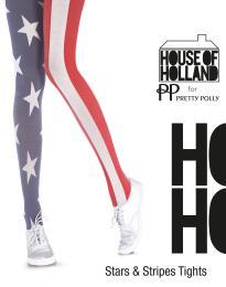 Pretty Polly - House of Holland - Stars & stripes