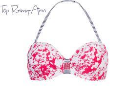 Beachlife Waterlily Remy-ann bikinibandeau