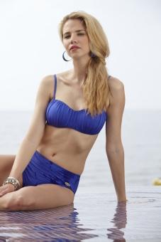 Damella bikinibh bandeau blå eller grön