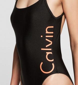 Calvin Klein baddräkt loggo