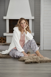 Damella pyjamaströja långärm