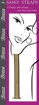 Braza - Sassy Straps guld
