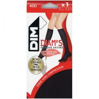 Diam's Opaque Satine knee