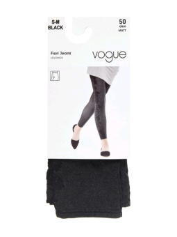 Vogue - Fiori Jeans Leggings
