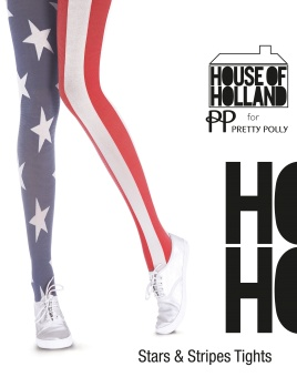 Pretty Polly - House of Holland - Stars & stripes