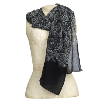The Moshi scarf Cleo Black