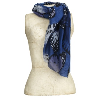 The moshi Scarf Nilla blue