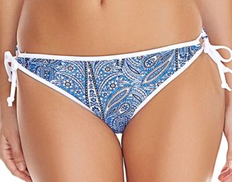Freya - Summer Tide Denim Tie Side Bikini Brief