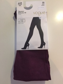 Vogue Opaque Brillante 3D Heather red