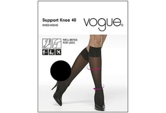 Vogue Support Knee 40 Suntan