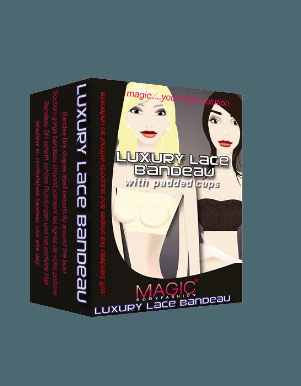 Magic Luxury lace bandeau bra