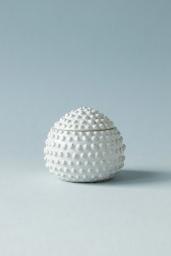 Keramikask Petite Pot Vit Stor