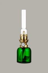 Koholmen Fotogenlampa Grön