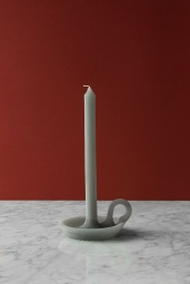 Candle Tallow Soft Grey