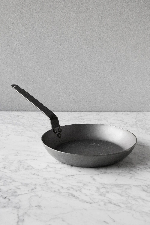 Mauviel Kolstålspanna Ø 24 cm