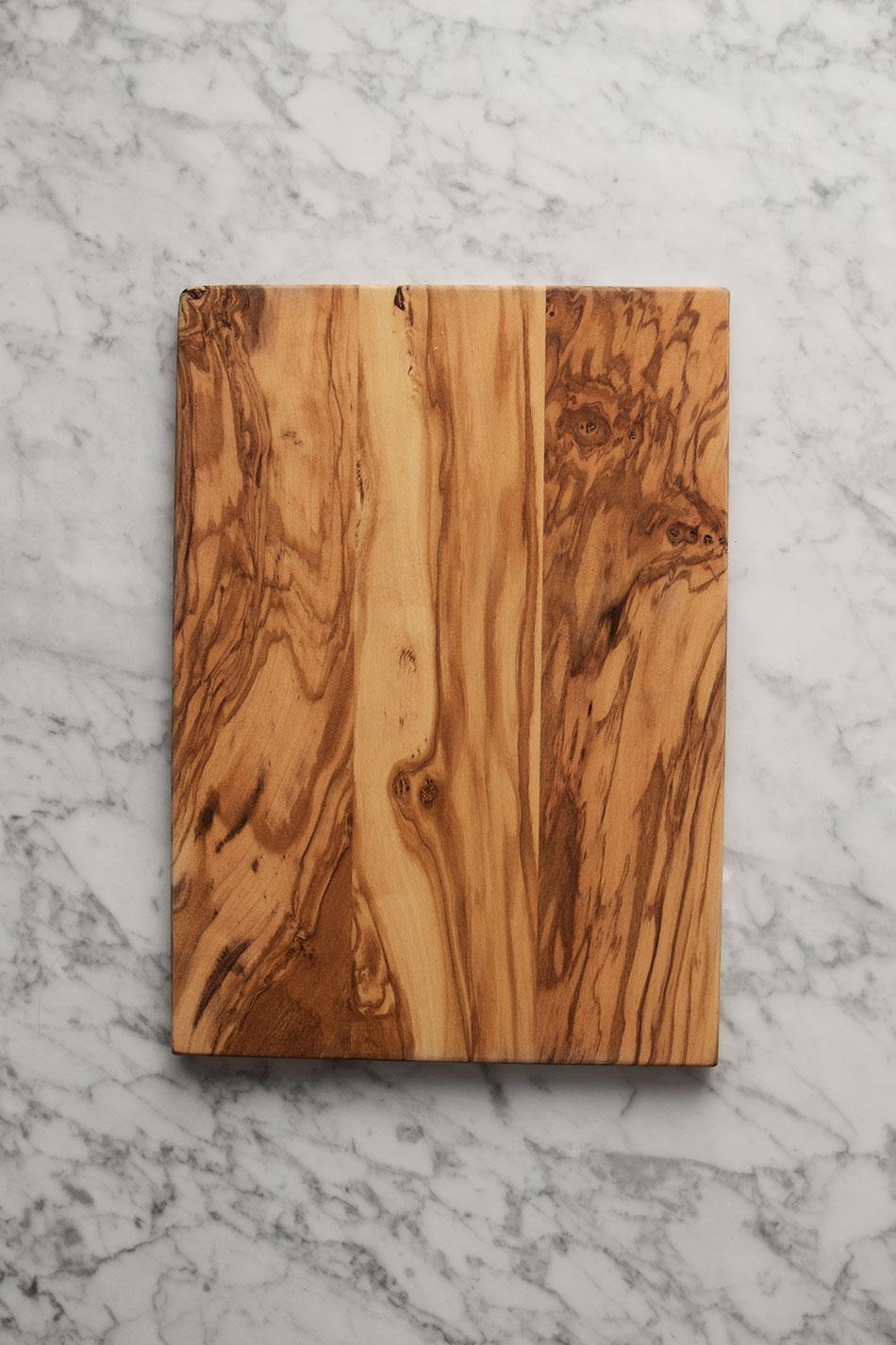 Skärbräda i Olivträ 28 x 20 cm