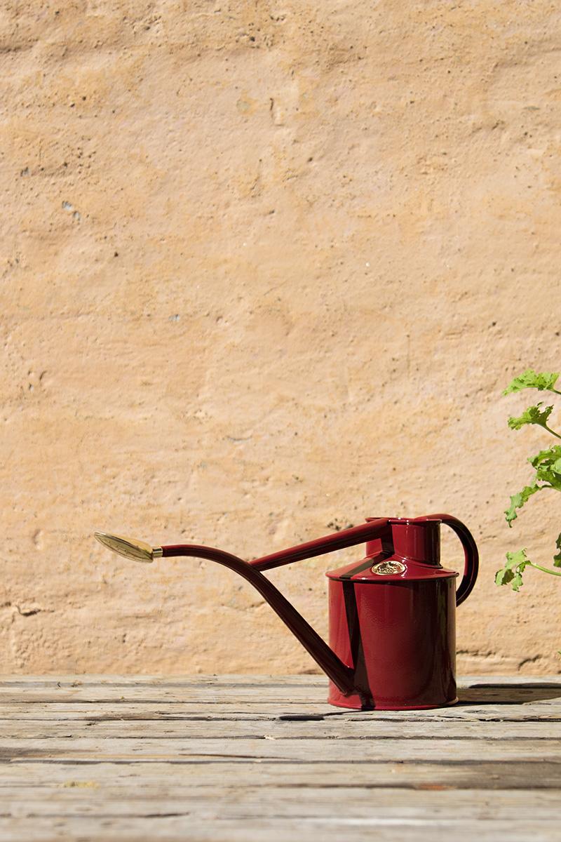 Vattenkanna 1 Liter Röd