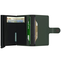 Miniwallet Matte Green-Black