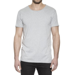 Crew-Neck Relaxed Grey