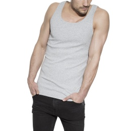 Tank Ribbed Grey