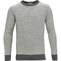 Striped Reverse Knit Dark Grey
