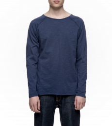 Otto Raw Hem Slub Midnight