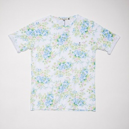 Embo Tee Green Flower
