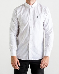 Herrman Oxford Shirt White