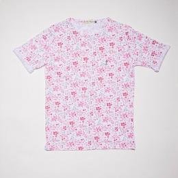 Embo Tee Pink Flower