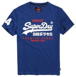 Goods Duo Tee Frontier Blue
