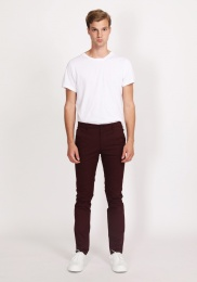 Otimar Chinos Dark Red