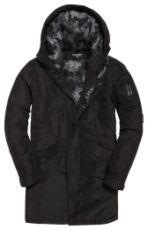 Surplus Goods Parka Black