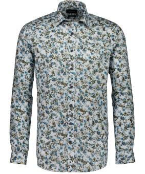 Aop Flora Shirt Blue