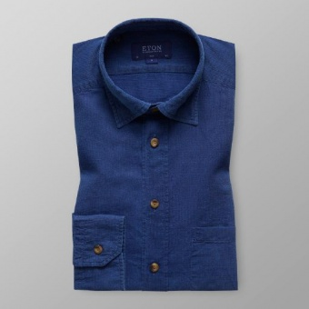 Slim Fit Blå Indigo