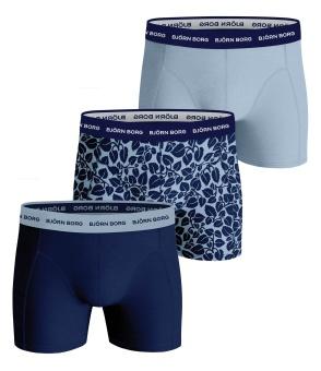 Essential Boxer Blue 3-Pack