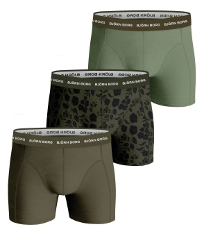Essential Boxer Green 3-Pack