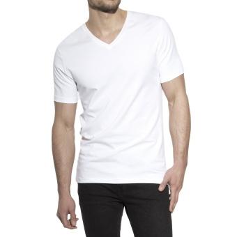 V-Neck White