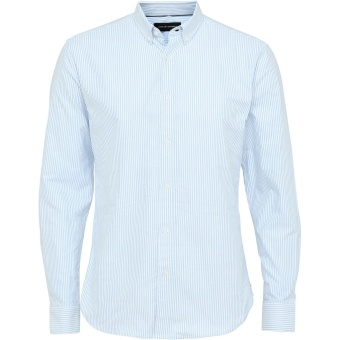 Oxford Stripe Light Blue