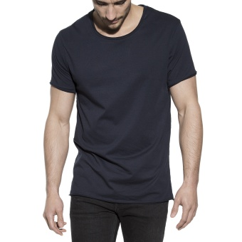 Crew-Neck Relaxed Dark Navy