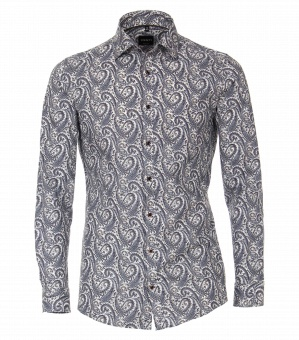 Paisley Shirt Blue