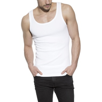 Tank Ribbed White