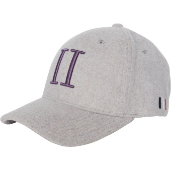Weaved 3D Baseball Cap Light Purple/Dark Purple
