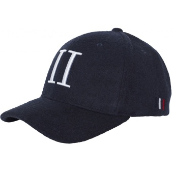 Weaved 3D Baseball Cap Dark Navy/White