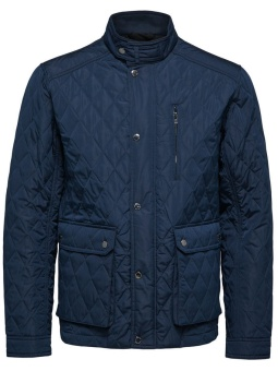 Elton Quilted Jkt Navy