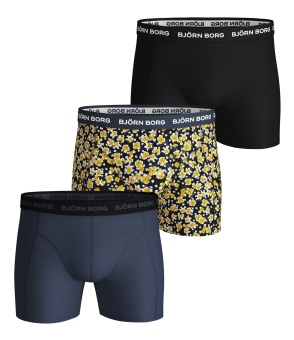 Shorts Sammy Boxer Disty Flower 3-Pack