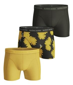 Shorts Sammy Boxer Oversized Flower Rosin 3-Pack
