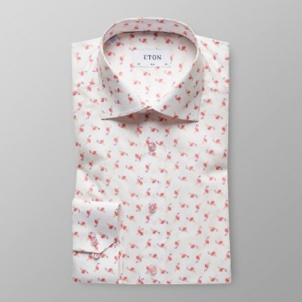Slim Fit Flamingos