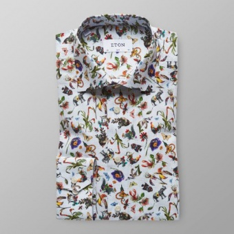 Slim Fit Multiprint