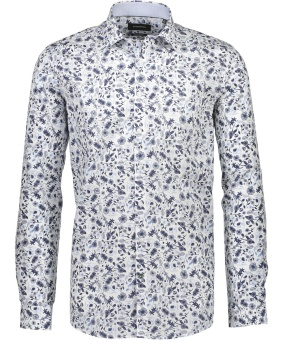 Technical Aop Shirt Light Blue
